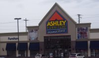 Store front for Ashley Furniture Homestore