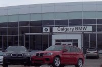 Store front for Calgary BMW