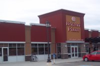 Store front for Boston Pizza