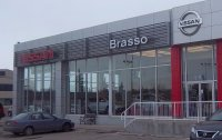 Store front for Brasso Nissan