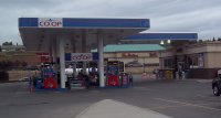 Store front for Co-op Gas Station
