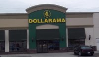 Store front for Dollarama