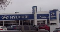 Store front for Precision Hyundai