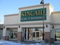 Store front for Kincaid Home Furnishings