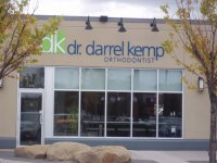 Store front for Orthodontist Dr. Darrel Kemp