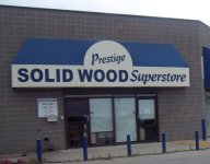 Store front for Prestige Solid Wood Superstore