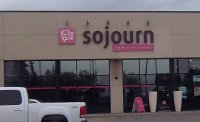 Store front for Sojourn Home Furnishings