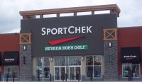 Store front for Sport Chek & Nevada Bob's Golf
