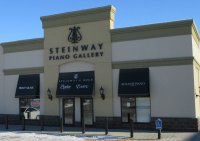 Store front for Steinway Piano Gallery