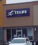 Store front for Telus - B Wireless