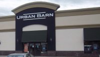 Store front for Urban Barn